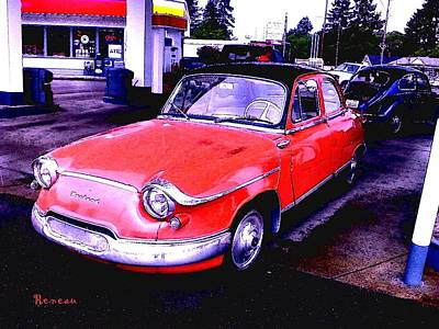 Photograph - Vintage French Panhard Auto 1 by Sadie Reneau