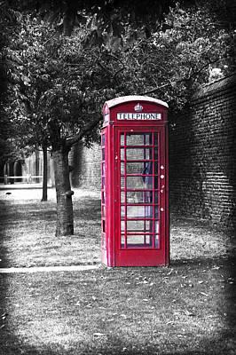 Achieving - British Red Telephone Box  by Maj Seda