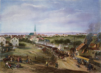 British Retreat, 1775 Art Print by Granger