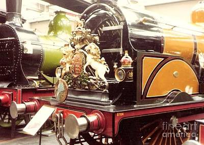 Photograph - British Royal Engine by Susan Williams