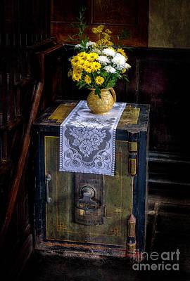 Flower Pot Photograph - British Safe by Adrian Evans