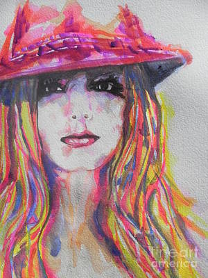 Chrisann Painting - Britney Spears by Chrisann Ellis