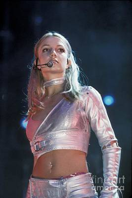 Britney Spears Photograph - Singer Britney Spears by Concert Photos