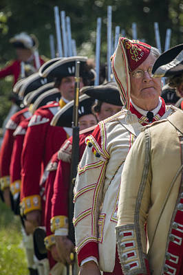 Manalapan Photograph - Brits Pass In Review by Bruce Neumann