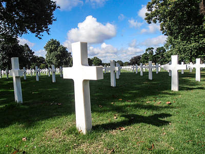 Photograph - Never Forget - Brittany American Cemetery by Dany Lison