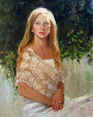 Painting - Brittany by Chris  Saper