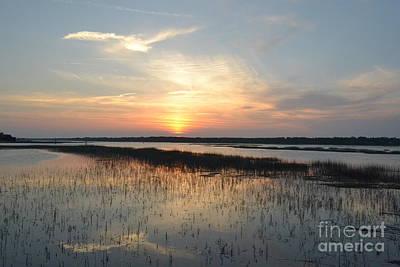 Photograph - Broad Creek Sunset IIi by Carol  Bradley