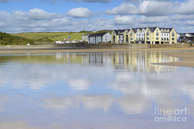 Photograph - Broad Haven Clouds by Doug Wilton