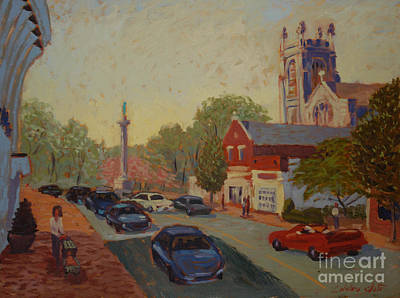 Broad St Westfield  Print by Monica Caballero
