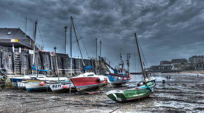 Broadstairs Harbour Art Print