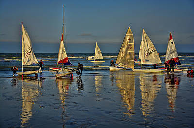 Broadstairs Sailing Art Print