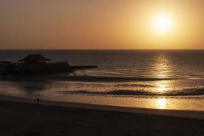 Art Print featuring the photograph Broadstairs Sunrise by David Isaacson