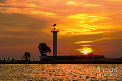 Broadwater Lighthouse Art Print