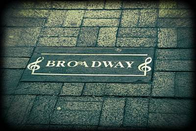 Broadway Art Print by Dan Sproul