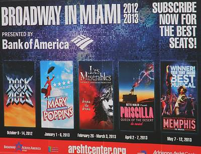 Broadway In Miami Original by Warren Thompson