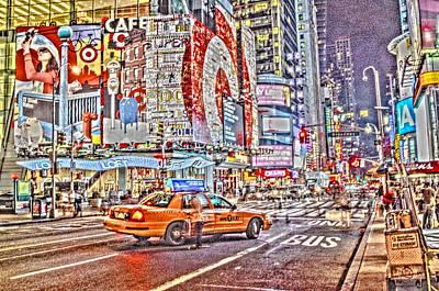 U2 Photograph - Broadway Paint by Alex Hiemstra