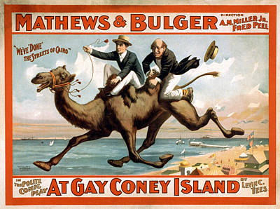 Painting - Broadway Poster, C1896 by Granger