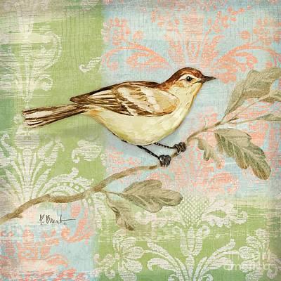 Brocade Songbird I Art Print