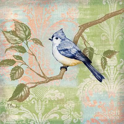 Brocade Songbird II Art Print by Paul Brent