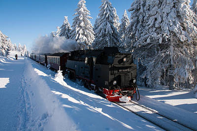 Photograph - Brockenbahn by Andreas Levi