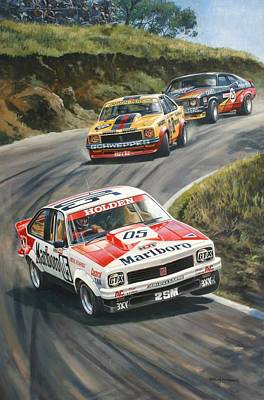 Painting - 'brock's Bathurst 1979' by Colin Parker