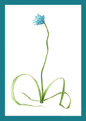 Painting - Brodiaea Flower by Nan Wright