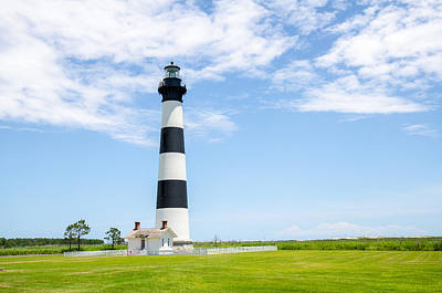 Photograph - Bodie Island Lighthouse by Eric Dewar
