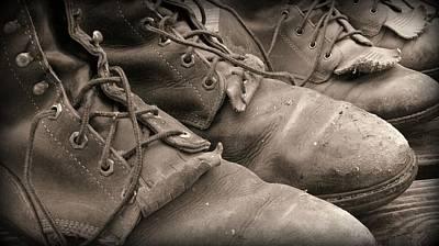 Working Cowboy Photograph - Broke In by Elizabeth Sullivan