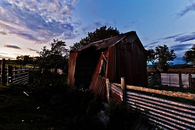 Photograph - Brokeback Barn  by Beverly Cash