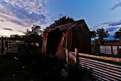 Photograph - Brokeback Barn  by Beverly Cash