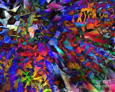 Digital Art - Broken #3 by Edmund Nagele