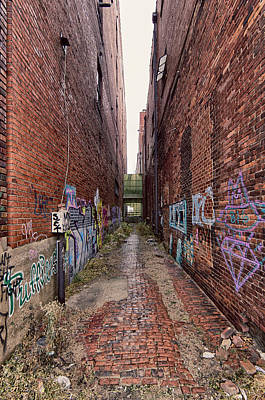 Photograph - Broken Alley by Kyle Howard