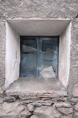 Broken Photograph - Broken Antique Window by Gina Dsgn