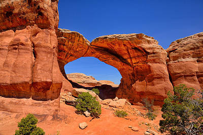 Photograph - Broken Arch by Greg Norrell