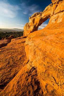Art Print featuring the photograph Broken Arch by Jay Stockhaus