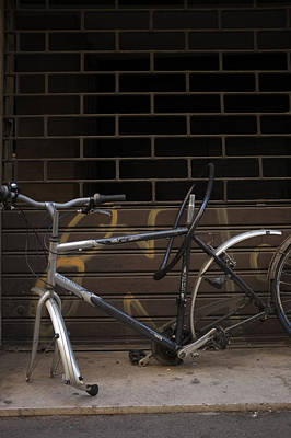 Photograph - Broken Bike by Christopher Rees
