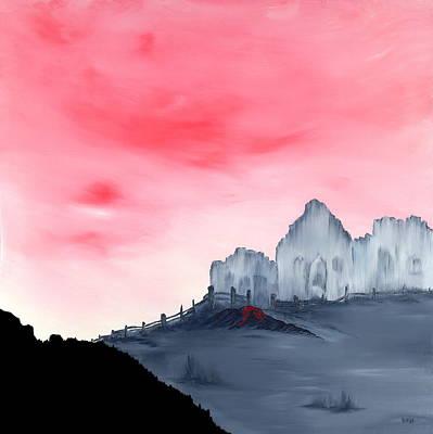 Wall Art - Painting - Broken Borders  Sacrifice by Linda Wimberly