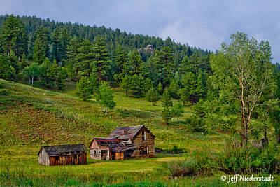 Photograph - Broken Cabin by Jeff Niederstadt