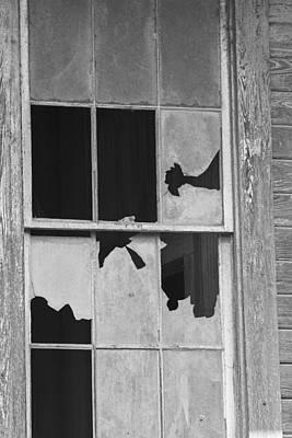 Photograph - Broken Cajun Window by Ronald Olivier