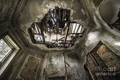 Broken Ceiling  Art Print