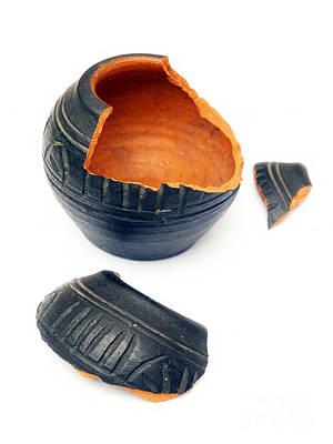 Ceramics Photograph - Broken Ceramic by Sinisa Botas