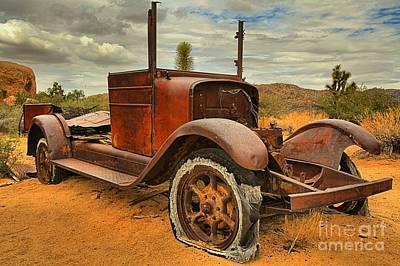 Mining Truck Photograph - Broken Down by Adam Jewell