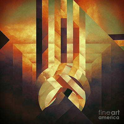 Broken Echo Art Print by Lonnie Christopher