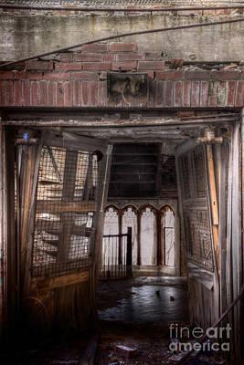 Overruns Photograph - Broken Entry by Margie Hurwich