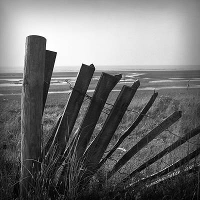 Photograph - Broken Fence by Christopher Rees