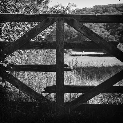 Photograph - Broken Gate by Christopher Rees