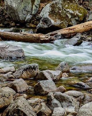 Photograph - Broken Giant Yosemite by Terry Garvin