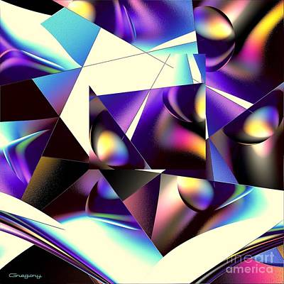 Digital Art - Broken Glass by Greg Moores