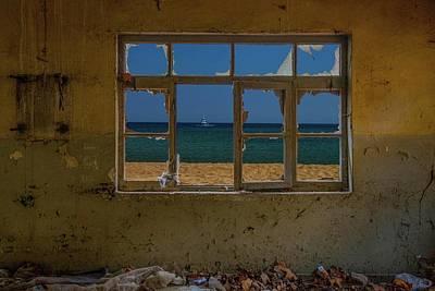 Broken Wall Art - Photograph - Broken Glass by Ramiz ?ahin