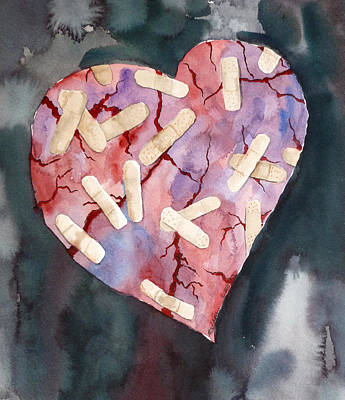 Painting - Broken Heart by Michal Madison